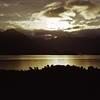 21/10/1999 - Sunset at Lake Wakatipu Approaching Queenstown, NZ
