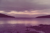 1980 Nov - Purple Sunset on Tasman Peninsula