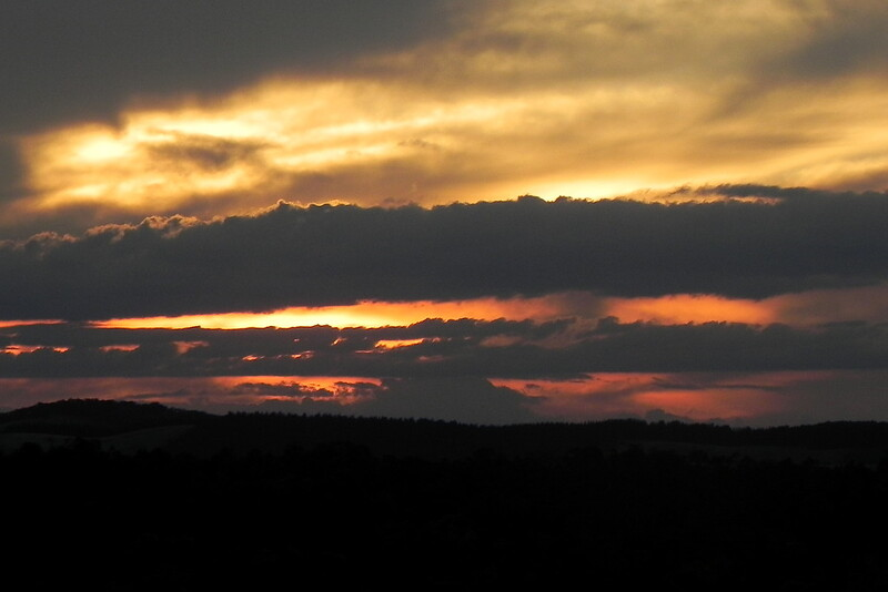 07/01/2017 - Sunset at Tarago