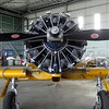 06/05/2017 - Engine on North American Aviation T-6 Texan