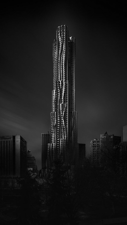 Visual Acoustics IX - Silence and Light - 8 Spruce Street - Rise