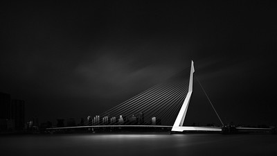 Visual Acoustics VII - Silence and Light - Erasmus Bridge