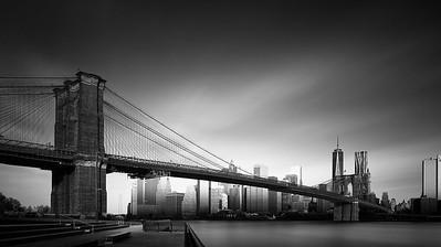 Visual Acoustics XII - Silence and Light - Brooklyn Bridge, New York City