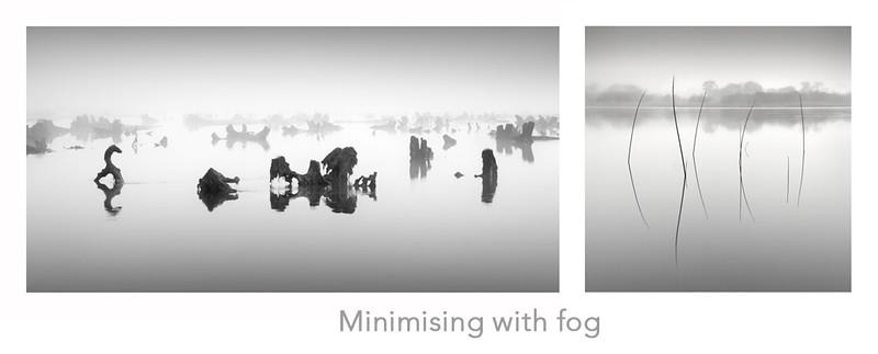 Minimising with fog
