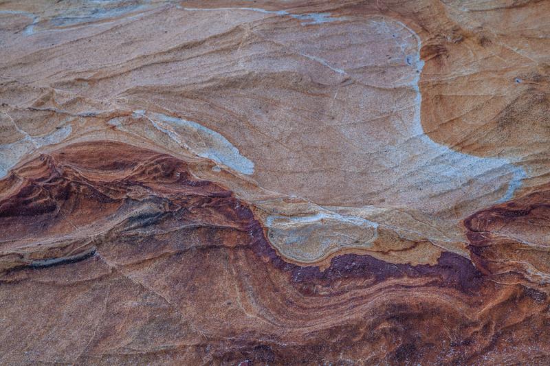 Carmel Beach Rock Pattern 1