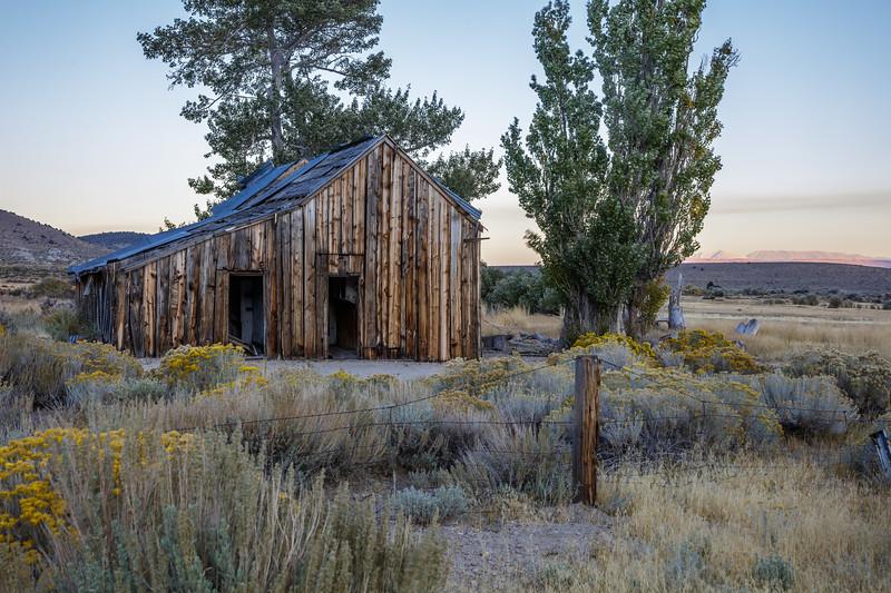 Empty House in the Sagebrush