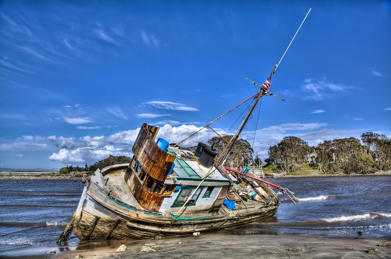 Shipwrecked at Moss Landing