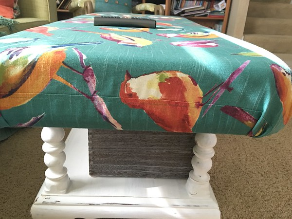 Padded Ottoman Table 5