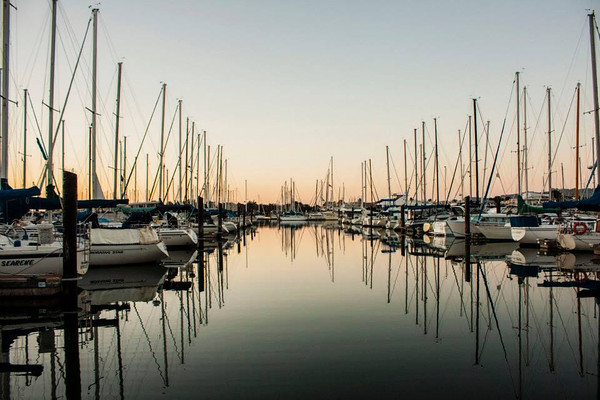 Berkeley Marina - my home for 4 months