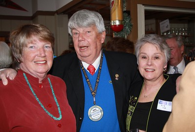 Mr and Ms. Muftic and Denver Rotary President