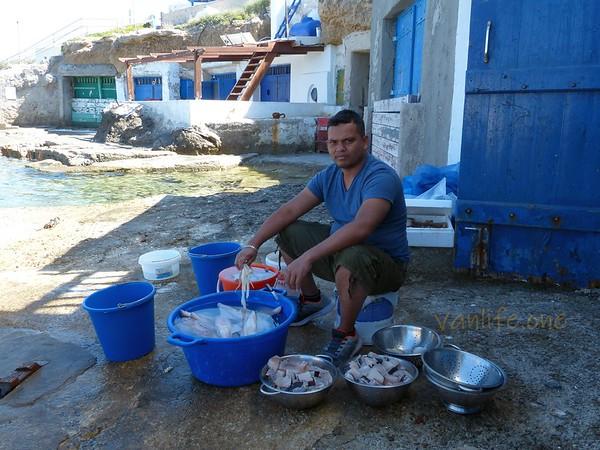 Pakistani fisherman