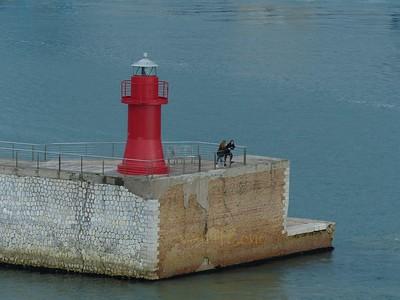 Leaving Ancona port