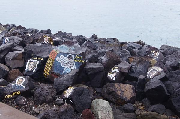 Rock paintings by Stoyko Gagamov