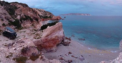 Kastanas beach panorama