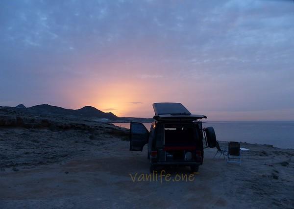 Sarakiniko sunset