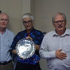 2017 Teltscher Trophy presentation by Jeremy Dhondy to John Holland and Norman Selway