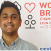 Shivam Shah - winner of the bronze medal in the teams at the World Youth Open Championships