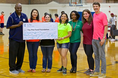 Total money raised for the Phil Ford Foundation was almost $7,000