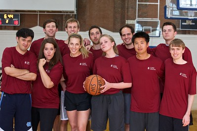 Six teams competed in a round robin tournament.   All players had to be current UNC students