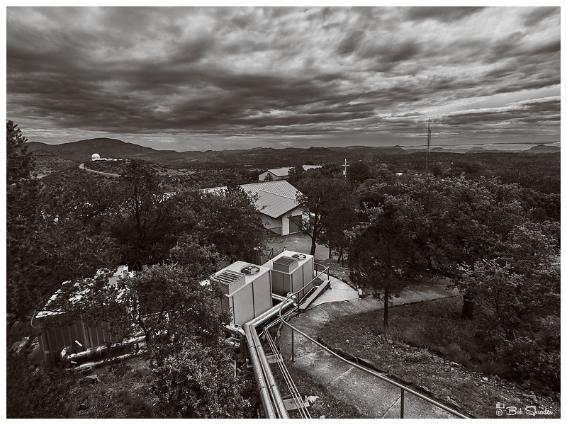 Observatory Campus in B&W