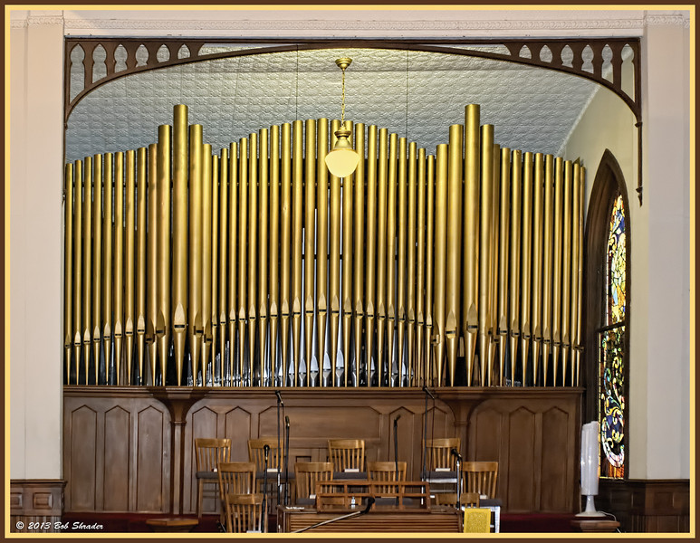 Organ at Central Christian Church