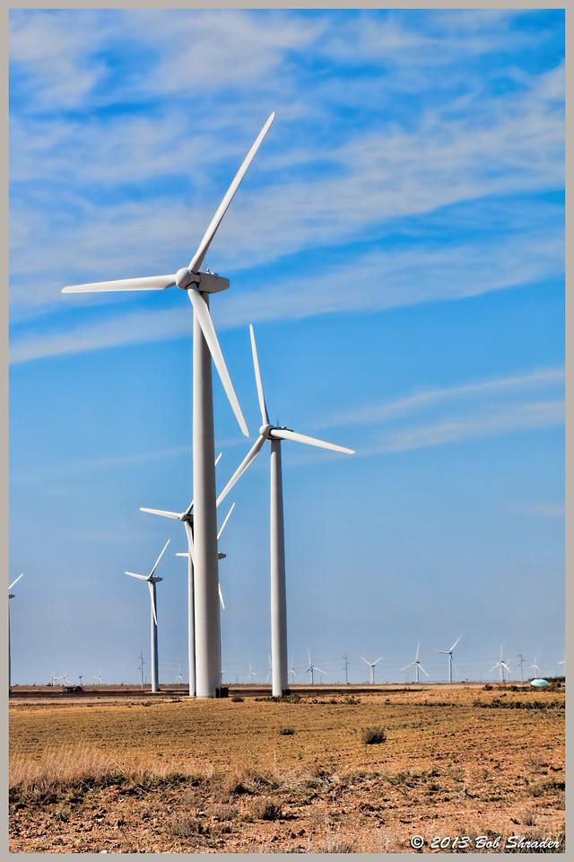 WIndmills in the Big Country