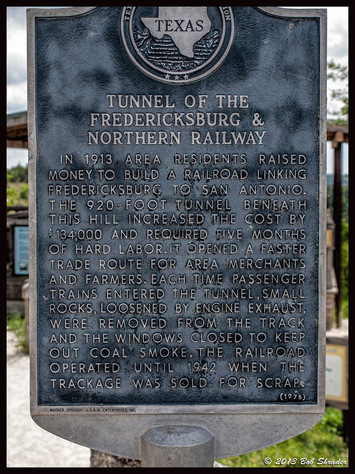 Historical Marker for Tunnel