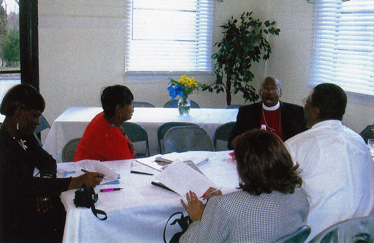 St. Cyprian's Vestry meets with Bishop Curry