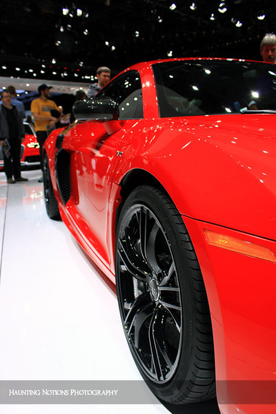 Too Hot To Handle (2013 North American International Auto Show)