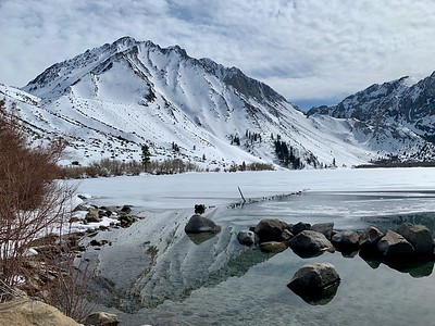 Frozen Convict Lake