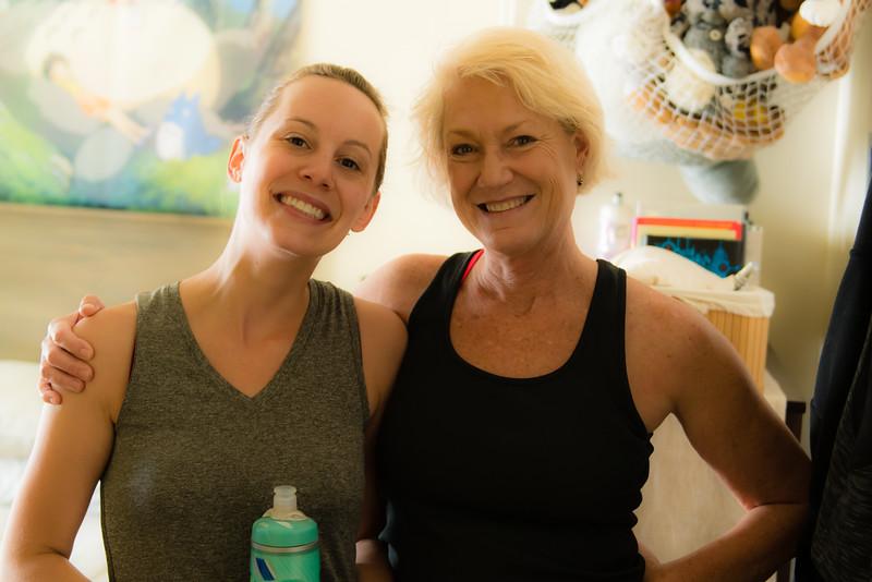 Pam and Jamie, Ann Arbor, June 2016