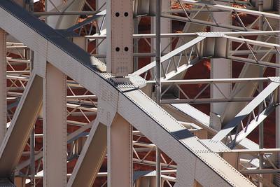Bridge Girders near Las Vegas, Nevada