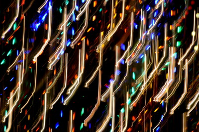 Abstract Christmas Lights - December, 2015
