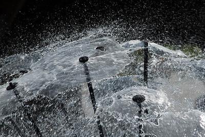 """The """"Dandelion Fountain"""" in Naperville, Illinois"""