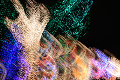Abstract Christmas Lights - December, 2014