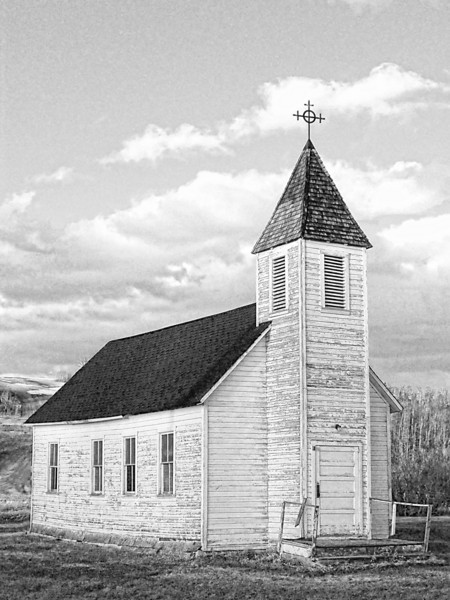 Church in Tawatinaw, Alberta