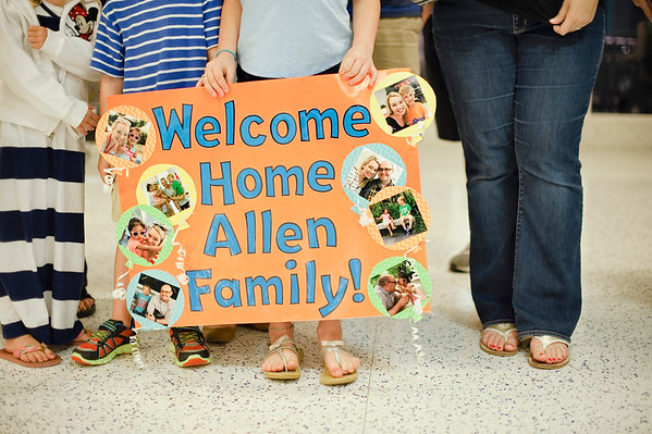 Allen Adoption Homecoming
