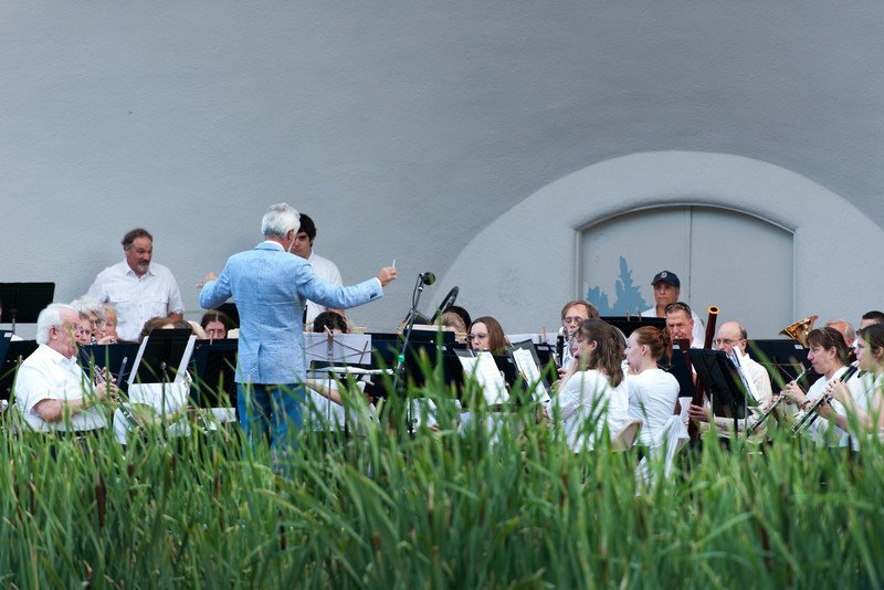 Ann Arbor Civic Band's final concert of the summer, July 23, 2014