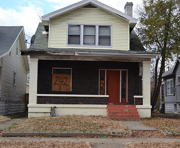 Before: This home in Louisville sat vacant and boarded-up for a year before The Fuller Center made it a home for two-time cancer survivor Carolyn Mayes through the Save a House/Make a Home initiative.