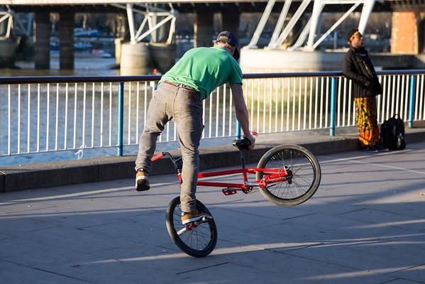 Bike Trick Performers - London 2013
