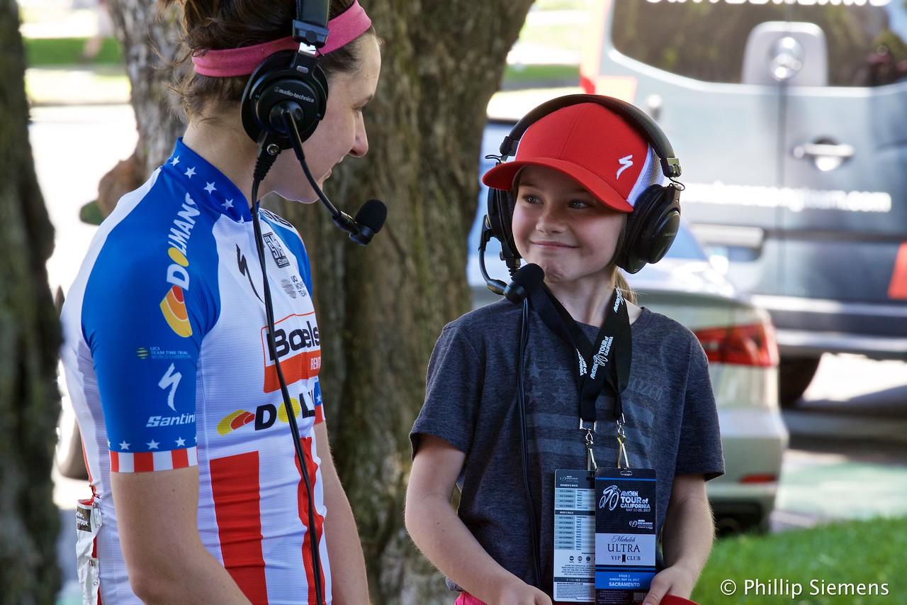 Ruby Isaac interviews Megan Guarnier