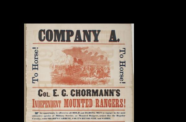 Chormann, E G  - Corporal, Recruiting Ad