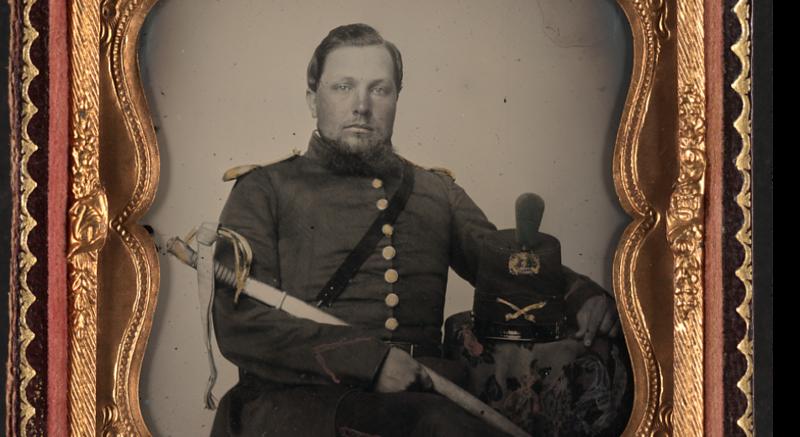 Robinson, Robert Emmet Robinson - Captain of Petersburg Light Dragoons