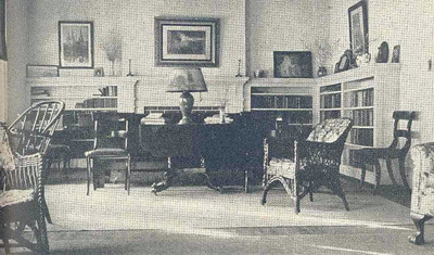 Massachusetts Room in Tuttle House - Living room furnished by the Woman's Auxiliary of the Diocese of Massachusetts as a memorial for Miss Jennie McIntosh.
