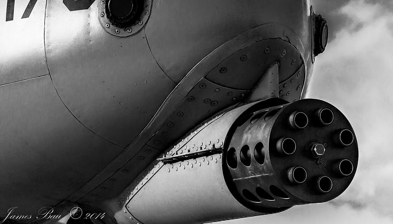 The business end of an A-10 Warthog