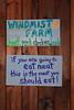 <center>No Vegans Allowed!  <br>Winter Farmer's Market - 28 January 2012<br>Mount Hope Farm<br>Bristol, Rhode Island</center>