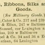 239 W Baltimore (Armstrong, Cator & Co) Woods' Baltimore city directory (1872)