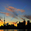 FRONT COVER<br /> <br /> Toronto silhouette.