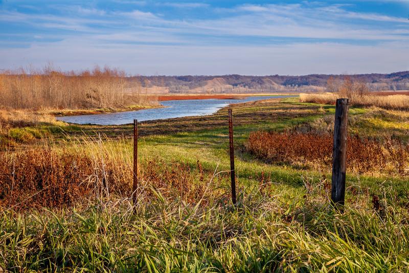 Squaw Creek National Wildlife Refuge.<br /> November 17, 2012