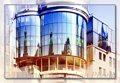 Reflections of Saint Stephen's Cathedral Haas House